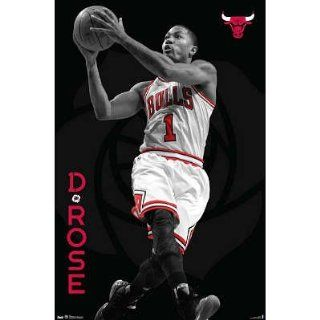 (22x34) Derrick Rose   Chicago Bulls Basketball Poster