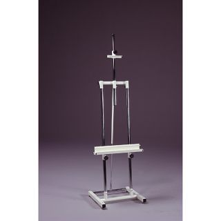 Avanti II White Heavy Duty Steel Double Post Artist Easel