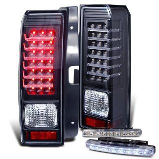 Rxmotoring 06 09 Hummer H3 Led Tail Lights With Drl 8 Led Fog Bumper