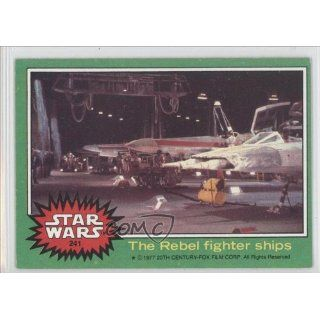fighter ships (Trading Card) 1977 Star Wars #241