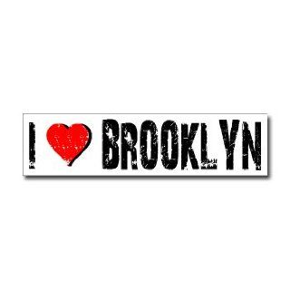Love Brooklyn   Window Bumper Sticker    Automotive