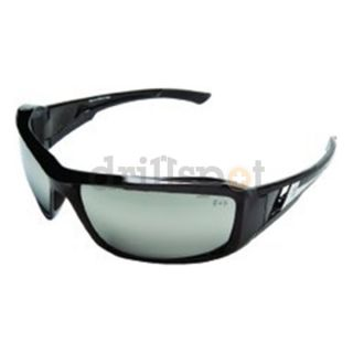 Edge Safety Eyewear XB117 XB117 Brazeau Black/ Silver Mirror Lens Be