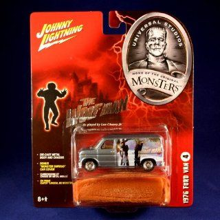 1976 FORD VAN #4 * THE WOLFMAN * Johnny Lightning 2005