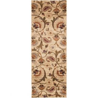 Infinity Collection Ivory/ Beige Rug (710 x 103)